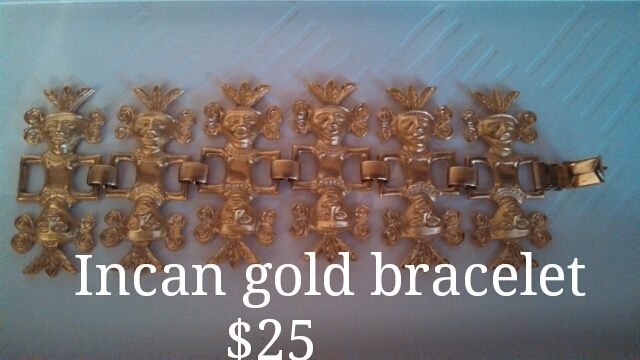 Incan Gold Bracelet