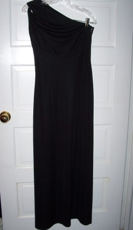 Black Retro Gown - Juniors 6-8