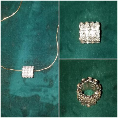 Rhinestone Necklace Enhancer