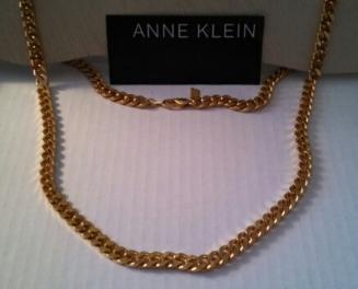 Gold Link Chain Anne Klein Necklace